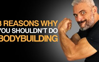 3 Reasons Why You Shouldn't Do Bodybuilding