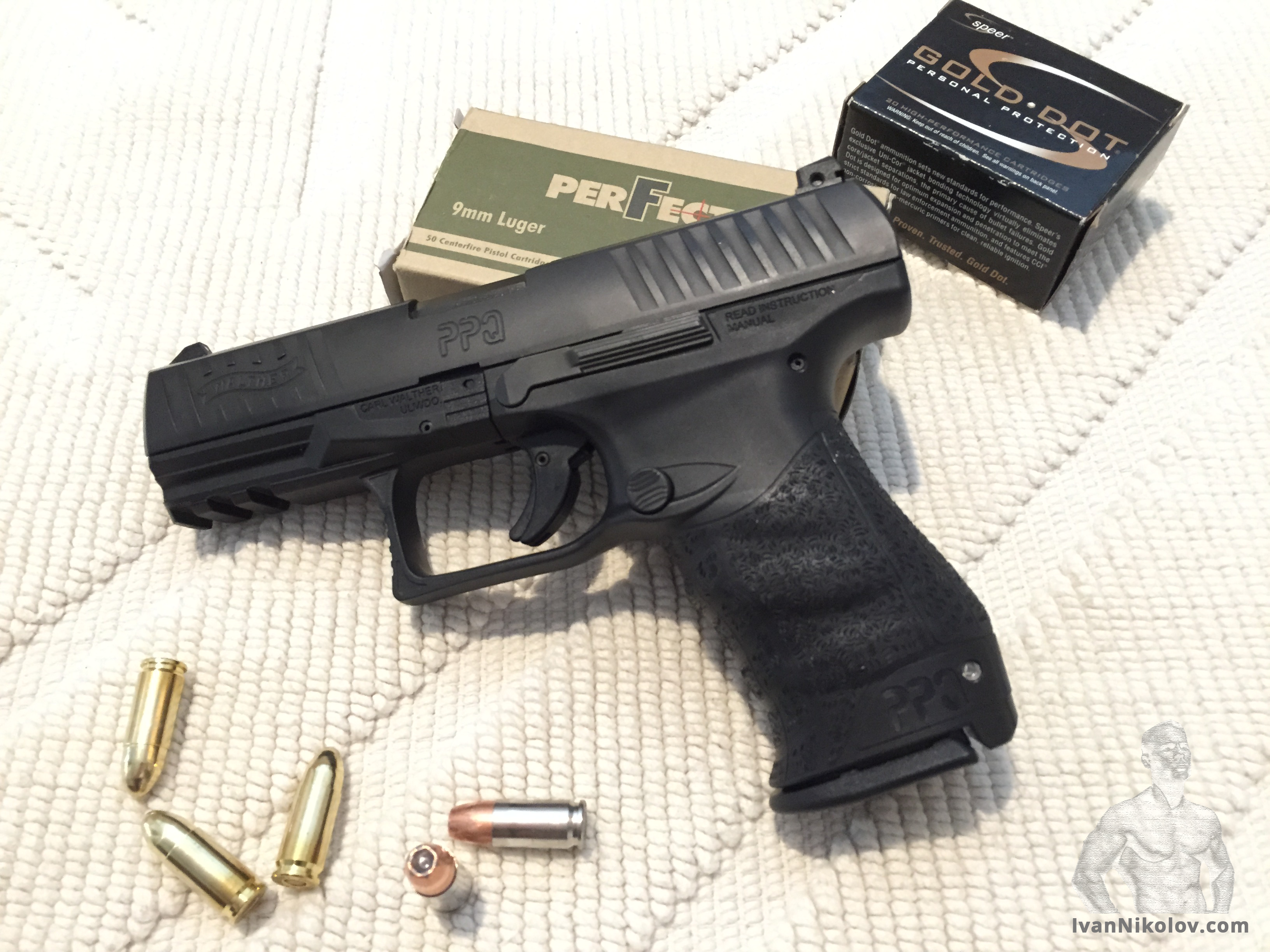 Breaking in my new Walther PPQ M2 - IvanNikolov com